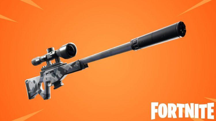 Suppressed Sniper Rifle - Fornite