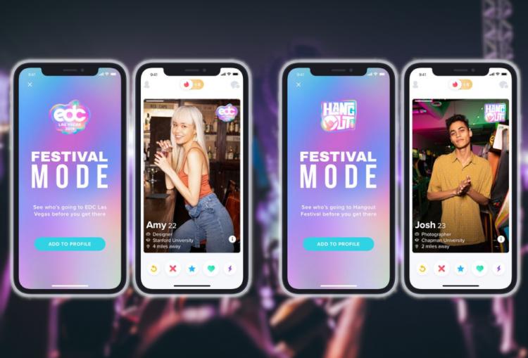 Tinder's Festival Mode