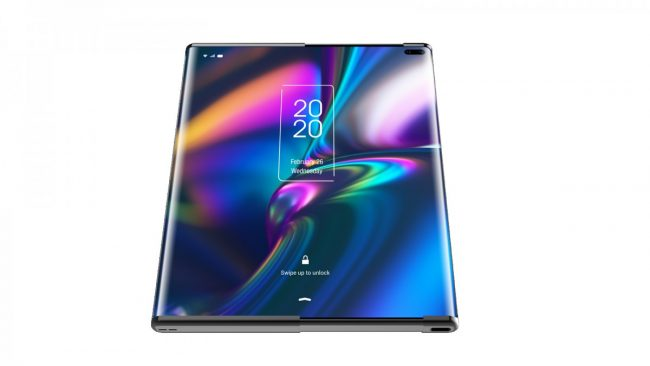 Mind-blowing! TCL Foldable Phone Ideas are Quite Impressive