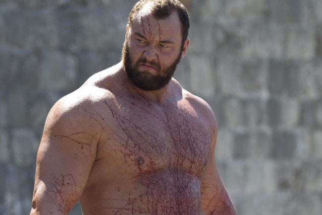 Hafthor Bjornsson, The Mountain, Sets A New Deadlift World Record