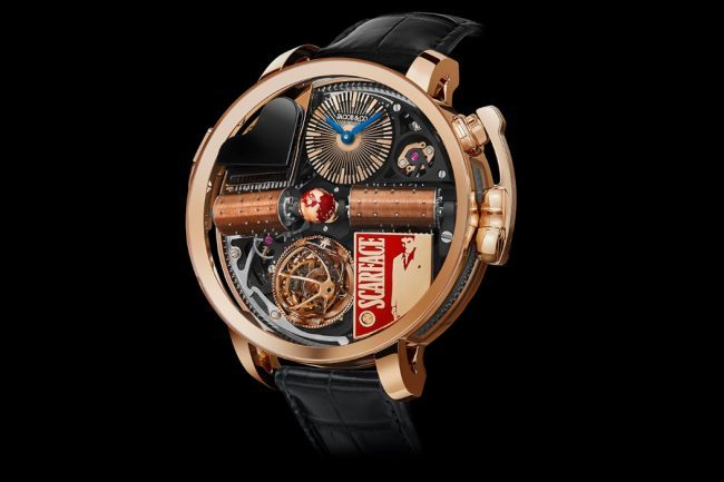 JACOB & CO. UNVEILS THE GANGSTER OPERA 'SCARFACE' WATCH