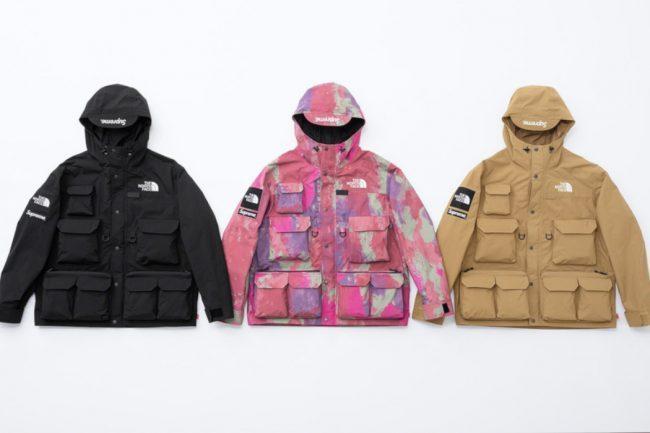 LOOK AT THE NEW SUPREME X THE NORTH FACE AND ONE WORLD CHARITY TEE