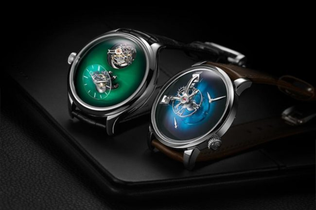 MB&F AND H. MOSER COLLABORATE TO CREATE A PAIR OF IMPRESSIVE WATCHES