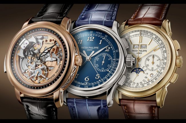 PATEK PHILIPPE JUST RELEASED THREE NEW GRAND COMPLICATION WATCHES