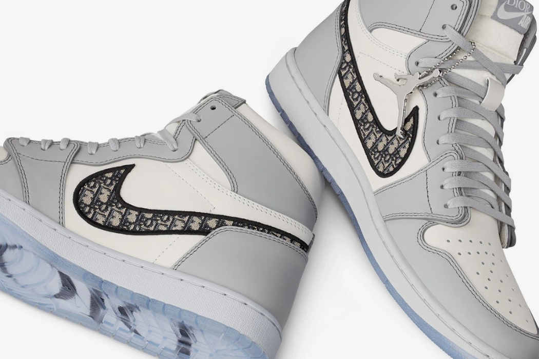 U.S. CUSTOMS SEIZED A LARGE SHIPMENT CONTAINING DIOR JORDAN 1 SNEAKERS