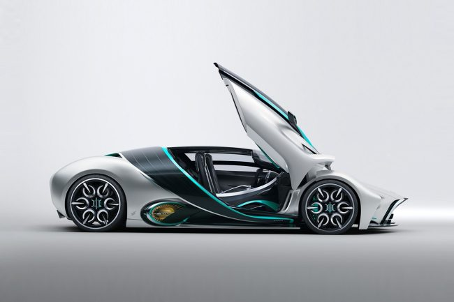 The Futuristic Hyperion XP-1 is the First Hydrogen Fuel Cell Supercar
