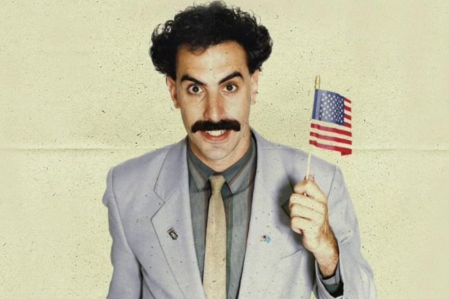 Check Out the Extremely Long, Barmy Title of the Upcoming Borat 2 Film