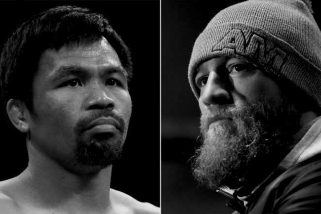 We will See a Conor McGregor vs. Manny Pacquiao Fight Next Year