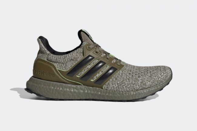 The Force is Quite Strong in these adidas UltraBOOST Yoda Sneakers