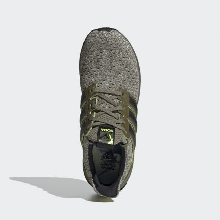 The Force is Quite Strong in these adidasUltraBOOST Yoda Sneakers