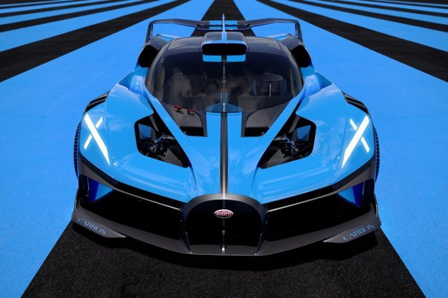 The New Bugatti Bolide is A Light Yet Fast 1825 HP Hypercar