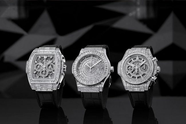 The Hublot Big Bang High Jewellery Watches are the Timepieces to Covet