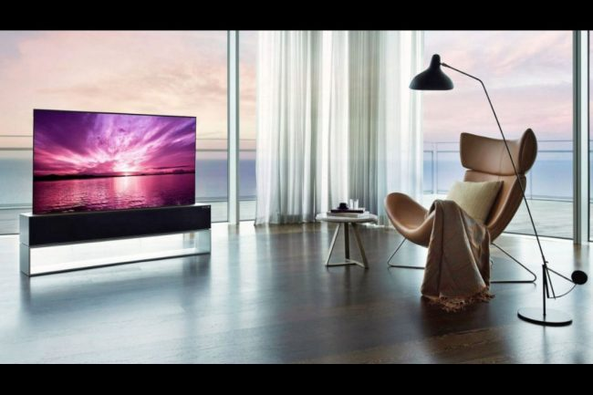 LG's Roll-Up OLED TV is Not Just Another 4K TV, and It's Expensive
