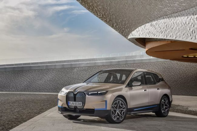 The 2021 BMW iX - The Marque's Next Generation Technology Flagship