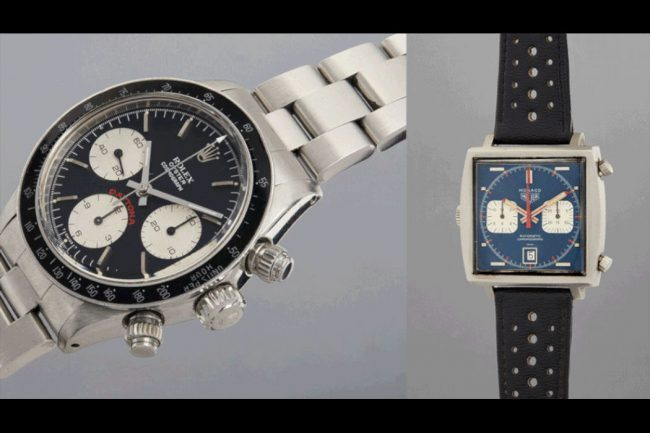 Iconic Watches of Steve McQueen and Paul Newman are Going to Auction