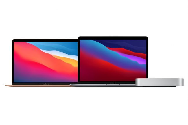 MacBook Pro, MacBook Air and Mac Mini with New M1 Chips Unveiled