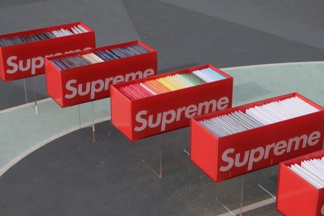 This Christie's Supreme Box Tee Auction will Feature Priceless Collections