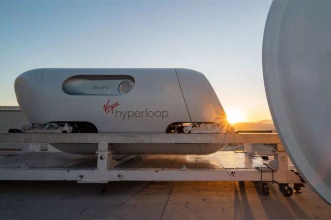 Virgin Hyperloop Completes First High Speed Human Passenger Ride