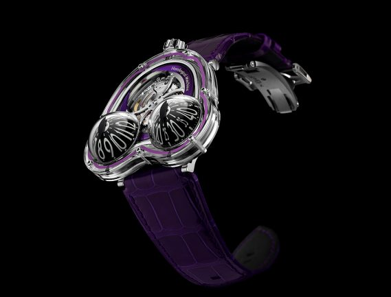 MB&F Releases the HM3 FrogX as a 10th Anniversary Edition of HM3 Frog