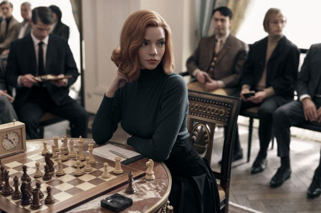 The Queen's Gambit Breaks Netflix Records Ranking 1st in 63 Countries