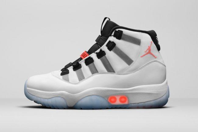 Air Jordan 11 Adapt Sneakers Uses Nike's Latest Self-Lacing Technology
