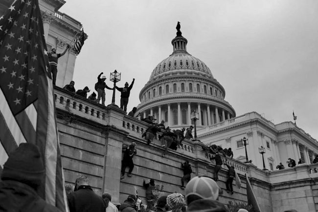 Assault on the US Capitol - When The USA was not the USA