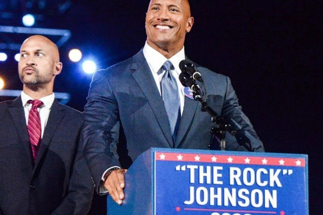 Dwayne Johnson Could Run for the President in the Future