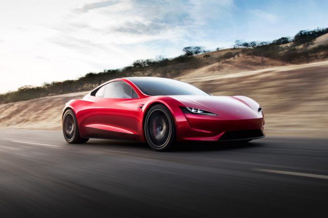 Elon Musk Wants to Use Thrusters to Make Tesla Roadster Hover