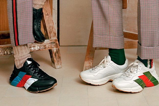 Have You Heard About Gucci Sneakers You Can't Ever Wear?