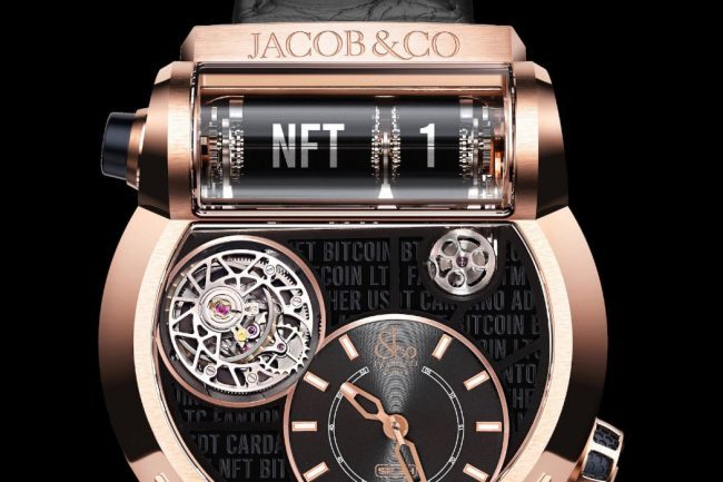 Jacob & Co. and ArtGrails to Auction Off the First Luxury Watch NFT