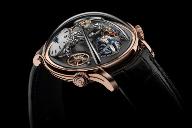 MB&F Releases Two New 10th Anniversary Legacy Machine Watches