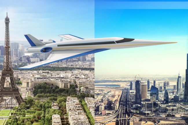 This Supersonic Jet Will Fly You from London to New York in 3.5 Hours