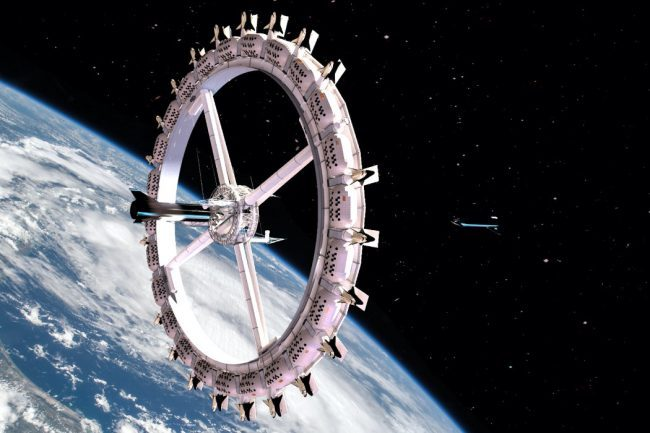 Make Your Next Vacation Out of the World with This Unique Space Hotel