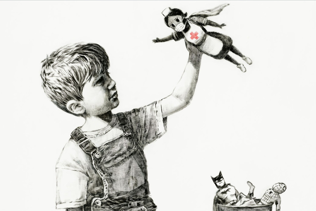 Banksy Painting, Game Changer, Sold for Over AUD $30 Million