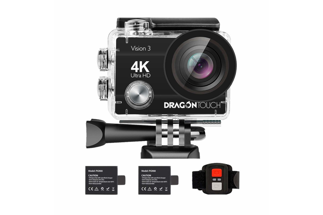 Dragon Touch Vision 3 Action Camera: The Best Budget Action Camera
