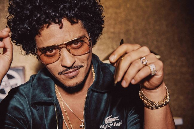 Bruno Mars Taps Ricky Regal for 70s Inspired Lifestyle Lacoste Collection