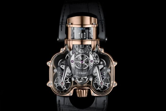 MB&F Creates a New Watch with a Clear Case Made from Sapphire Crystal