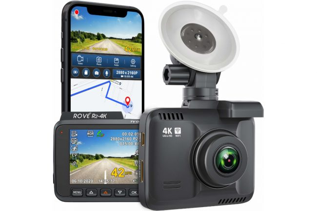 Rove R2-4K Dash Camera: Most Advanced and Powerful 4K Dash Camera - Dragon Touch Vision 3