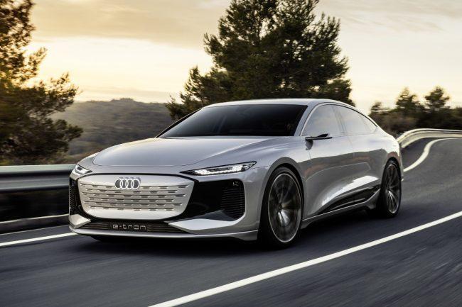 Audi A6 E-Tron Concept, the Future All-Electric Audi Sedan is Here