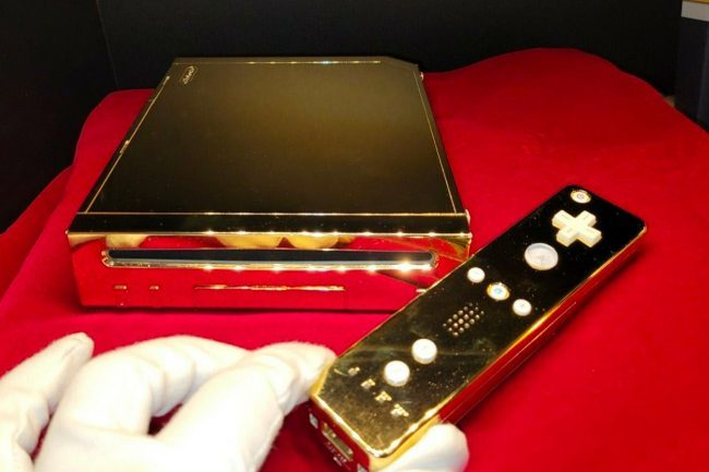 This Royal Nintendo Wii Made For Queen Elizabeth Costs US$300,000