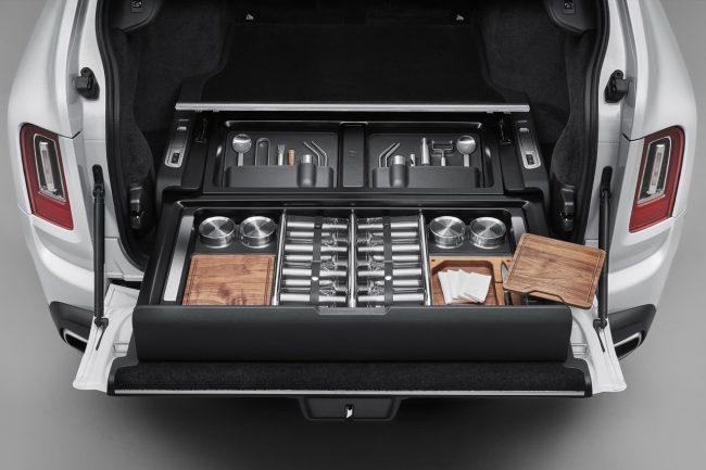 Rolls-Royce Cullinan Now Features Optional Bespoke Storage Trunk