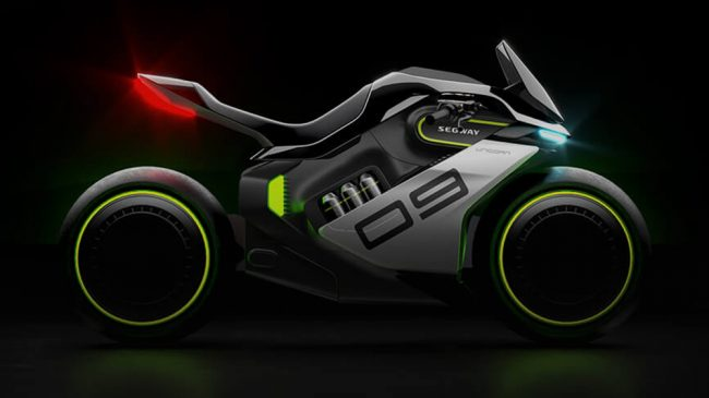 Segway Apex H2 Hybrid Motorcycle Can Reach the Speed of 150 KMPH