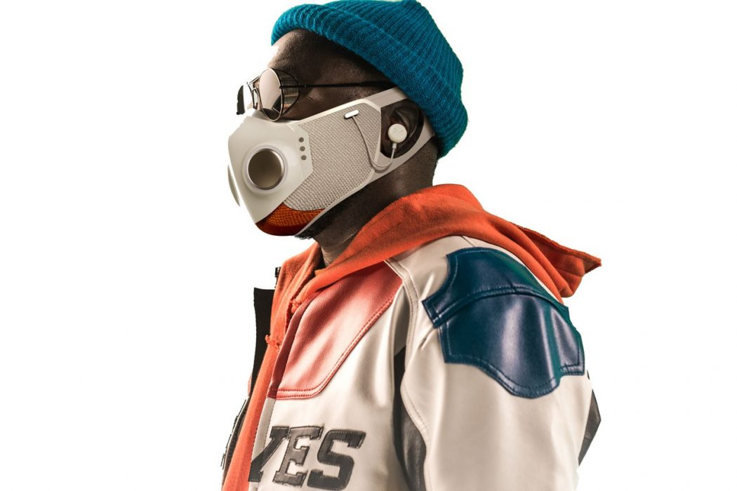 Will.I.Am 's Xupermask: A Face Mask with Wi-Fi and In-Ear Headphones