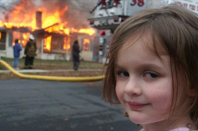 Disaster Girl Sells the Popular Meme As NFT For AU$643,000