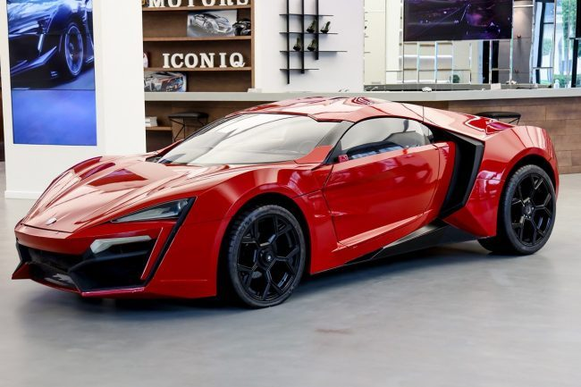 The Lykan Hypersport From Fast & Furious 7 Is Up For Auction