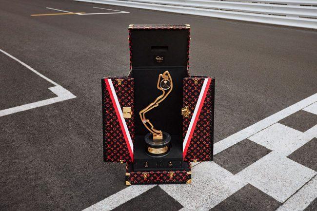 Louis Vuitton Designs A Bespoke Trophy Case For Monaco Grand Prix