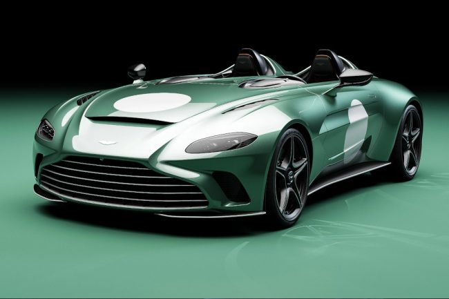 Order Books For Aston Martin V12 Speedster DBR1 Package Are Now Open