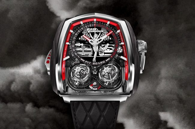 Jacob & Co. Is Celebrating The Fast & Furious Saga With A New Watch