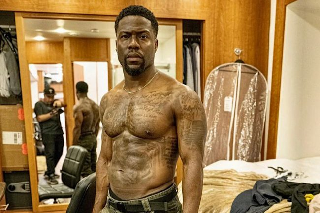 Kevin Hart Looks Swole After Training with Navy SEALS