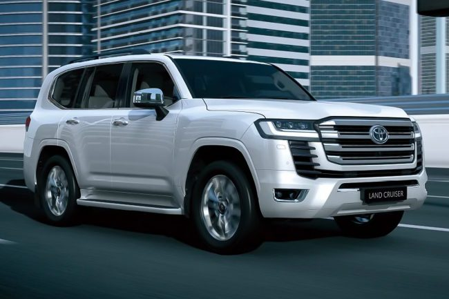 2022 Toyota LandCruiser 300 Series with Twin-Turbo Diesel V6 Unveiled